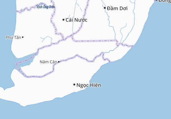 Tam Giang Tây Map