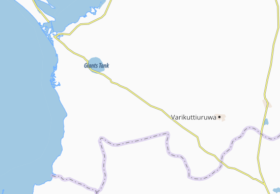 Paraiyanalankulam Map
