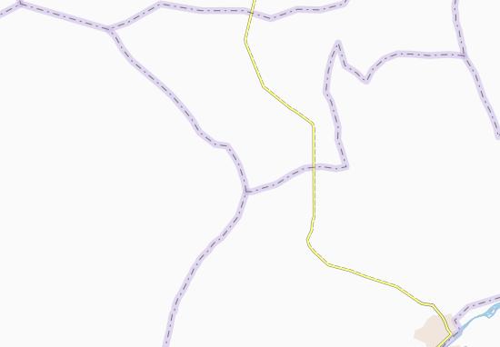 Carte-Plan Koubian