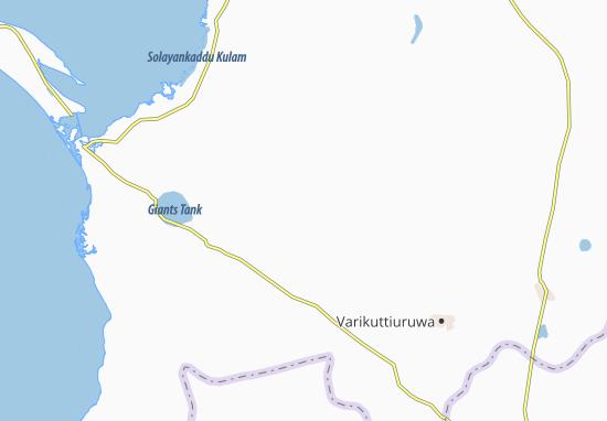 Kaart Plattegrond Palampiddi
