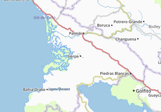 Mappe-Piantine Sierpe