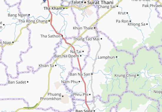 Ban Na Doem Map