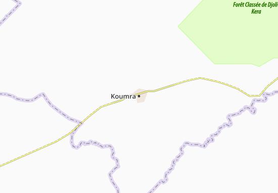 Carte-Plan Koumra