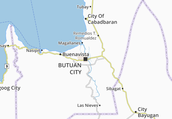 Mappe-Piantine Butuan City