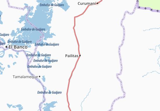 Carte-Plan Pailitas