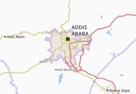 Carte-Plan Kirkos Zone 8