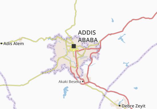 Carte-Plan Kirkos Zone 2