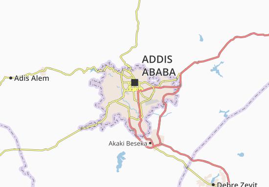 Carte-Plan Kirkos Zone 12
