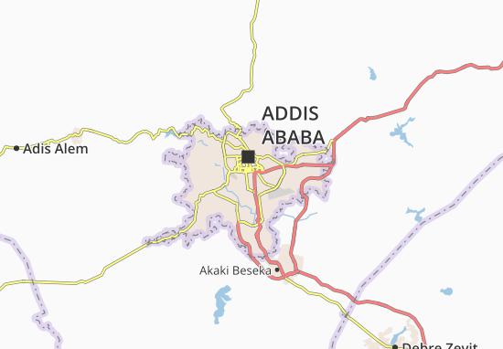 Carte-Plan Kirkos Zone 14