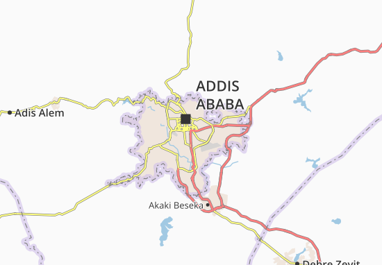 Carte-Plan Kirkos Zone 20