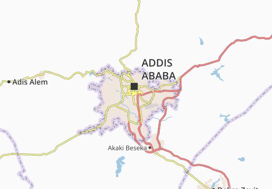 Carte-Plan Kirkos Zone 15