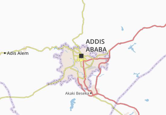 Carte-Plan Arada Zone 1