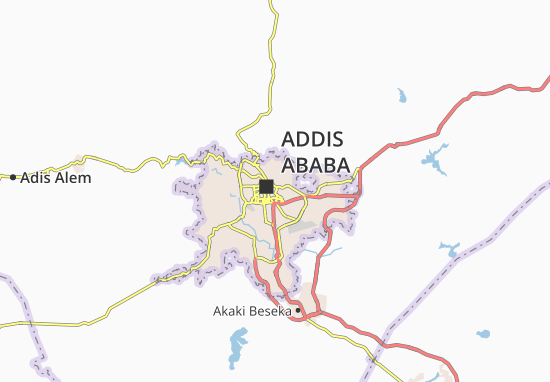 Carte-Plan Arada Zone 16