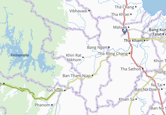 Mappe-Piantine Khiri Rat Nikhom