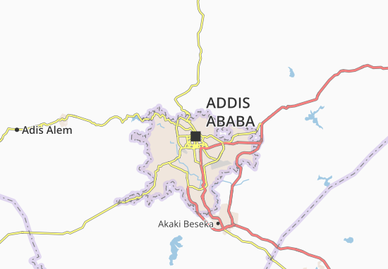 Carte-Plan Arada Zone 4