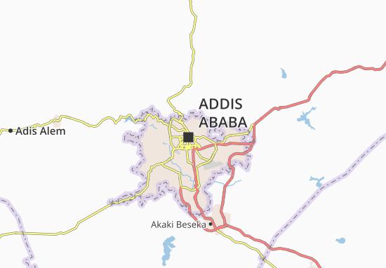 Carte-Plan Arada Zone 11