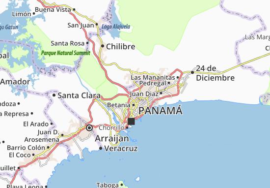 Carte-Plan Amelia D. de Icaza