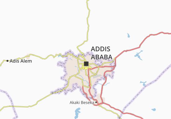 Carte-Plan Arada Zone 8