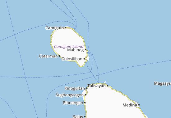 Carte-Plan Guinsiliban