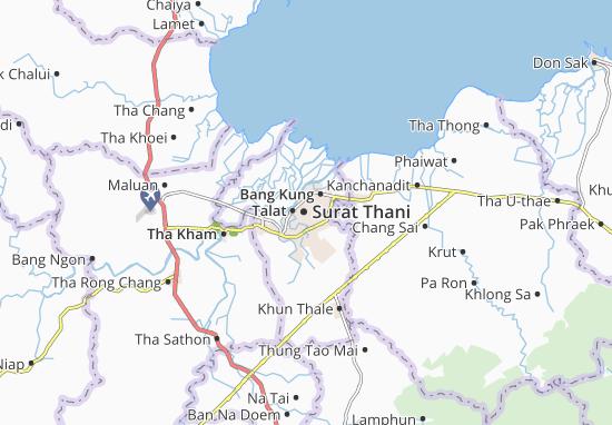 Mapas-Planos Surat Thani