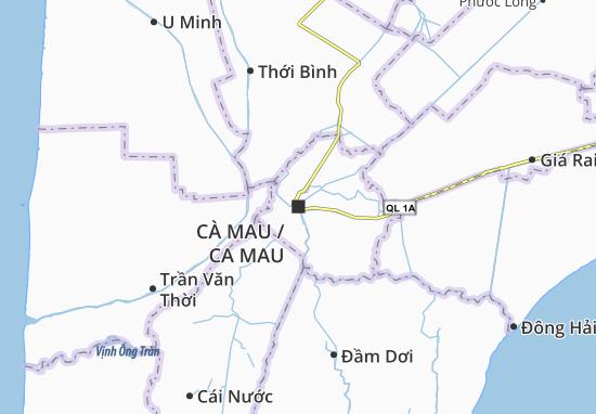 Cà Mau Map