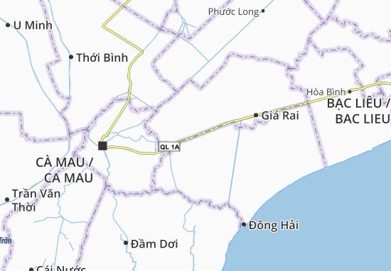 Tân Phong Map