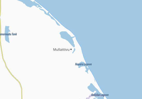 Mullaittivu Map