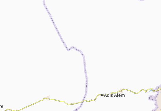 Carte-Plan Adi Feyiso