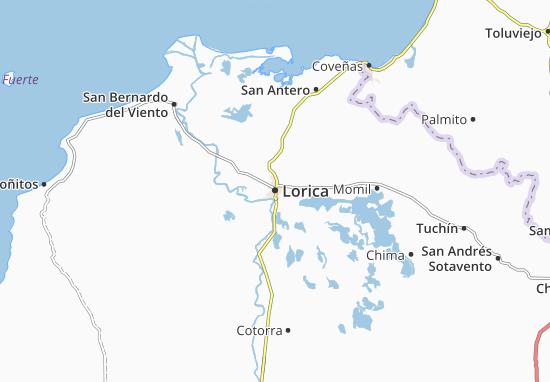 Carte-Plan Lorica