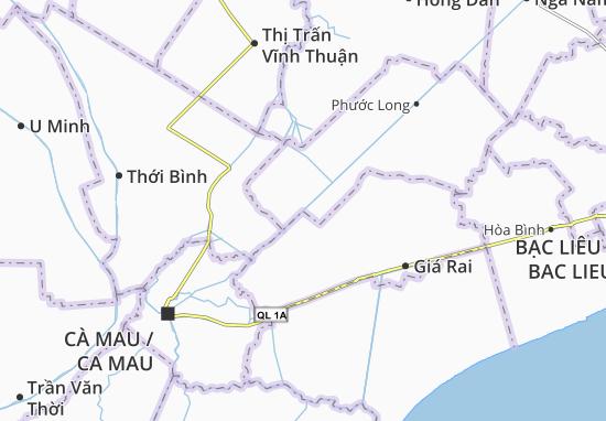 Mappe-Piantine Phong Thạnh Tây B