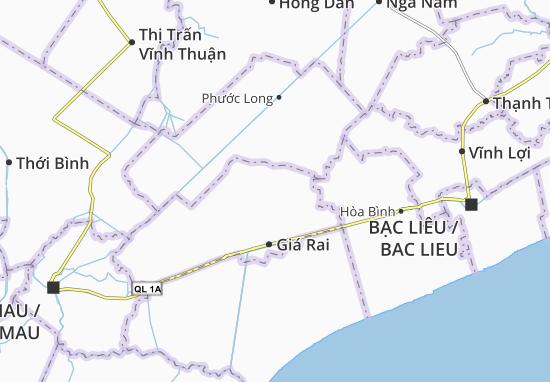 Carte-Plan Phong Tân