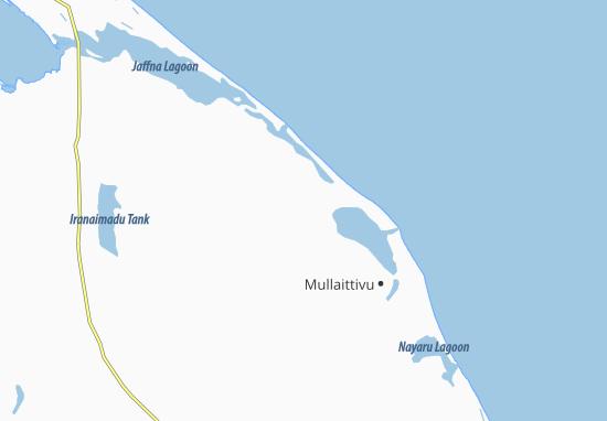 Kaart Plattegrond Putukkudiyirippu