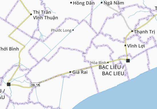 Phong Thạnh Đông Map