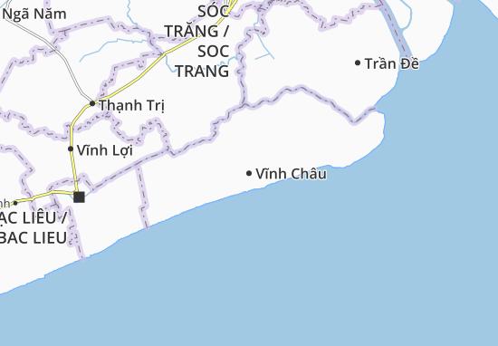 Vĩnh Châu Map