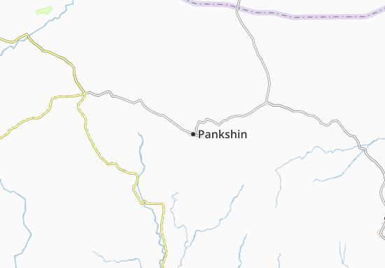 Carte-Plan Pankshin