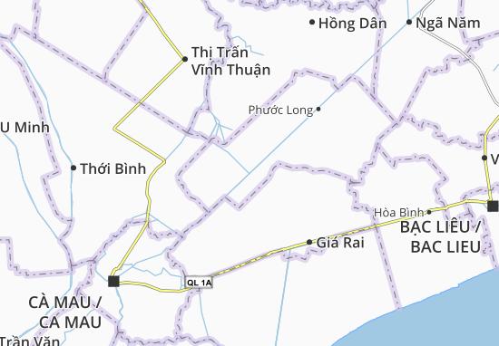 Phong Thạnh Tây A Map