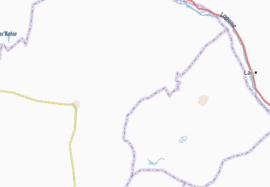 Carte-Plan Damdou Ngolo