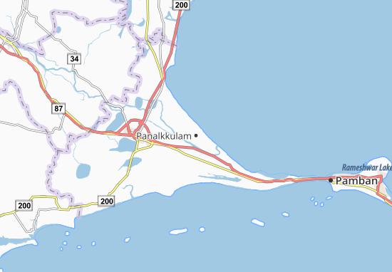 Panalkkulam Map
