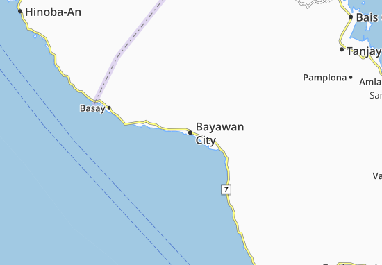 Bayawan City Map