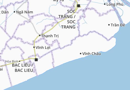 Hòa Tú 2 Map