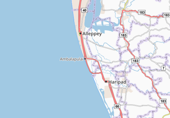 Ambalapulai Map