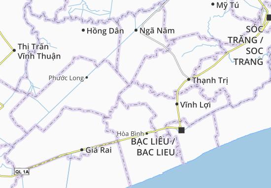 Vĩnh Hưng A Map