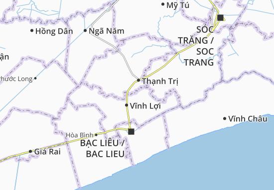 Châu Hưng A Map