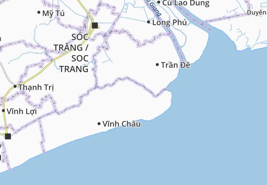 Hòa Đông Map