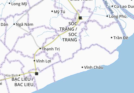 Hòa Tú 1 Map