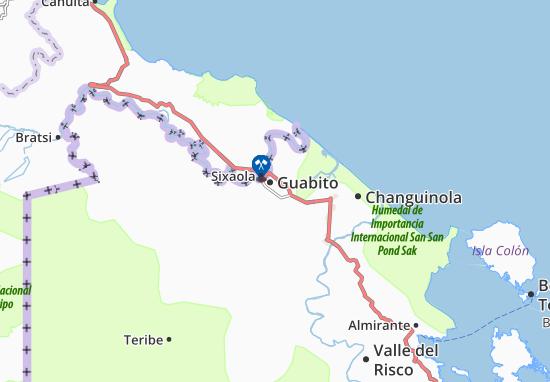 Carte-Plan Guabito