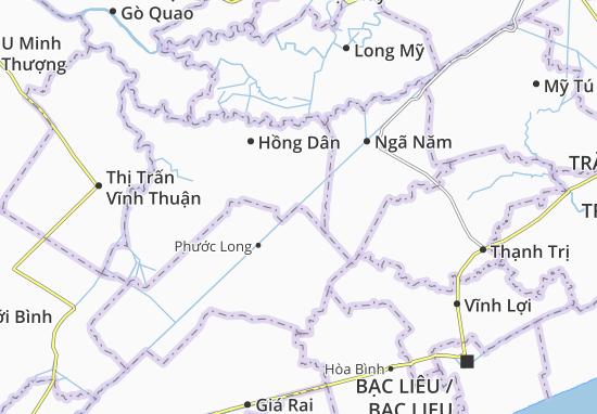 Ninh Quới A Map