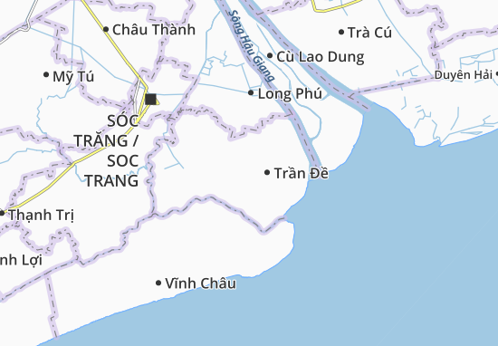 Liêu Tú Map