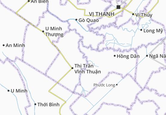 Carte-Plan Phong Đông