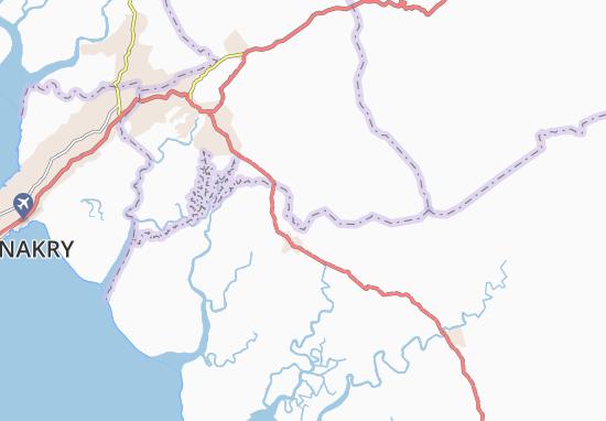 Carte-Plan Ouribeli